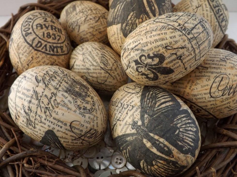 Декорированные яйца