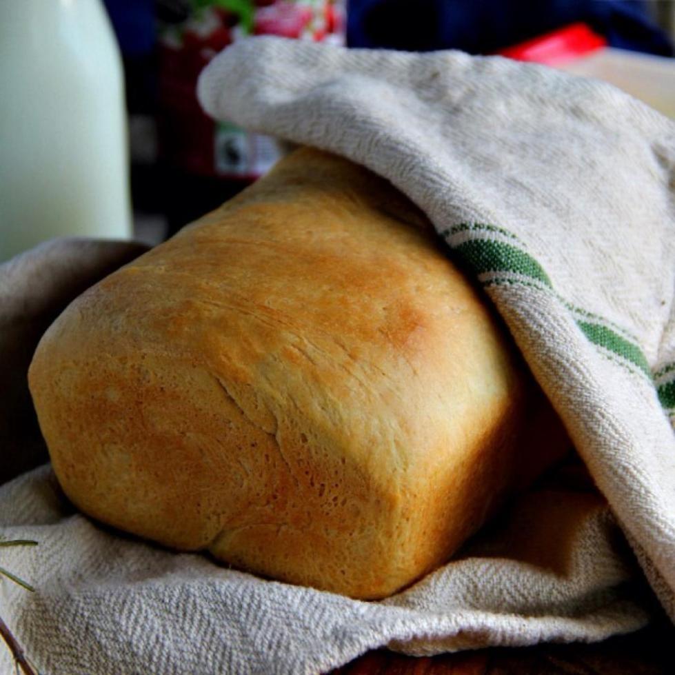 Хлеб на закваске готов