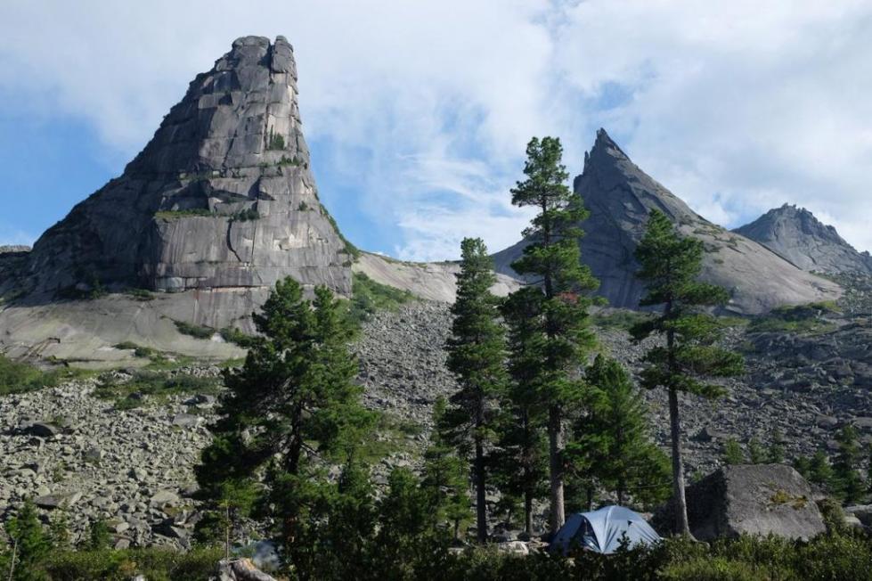 горы и равнины Красноярского края