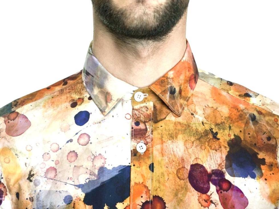 чем смыть акриловую краску с одежды