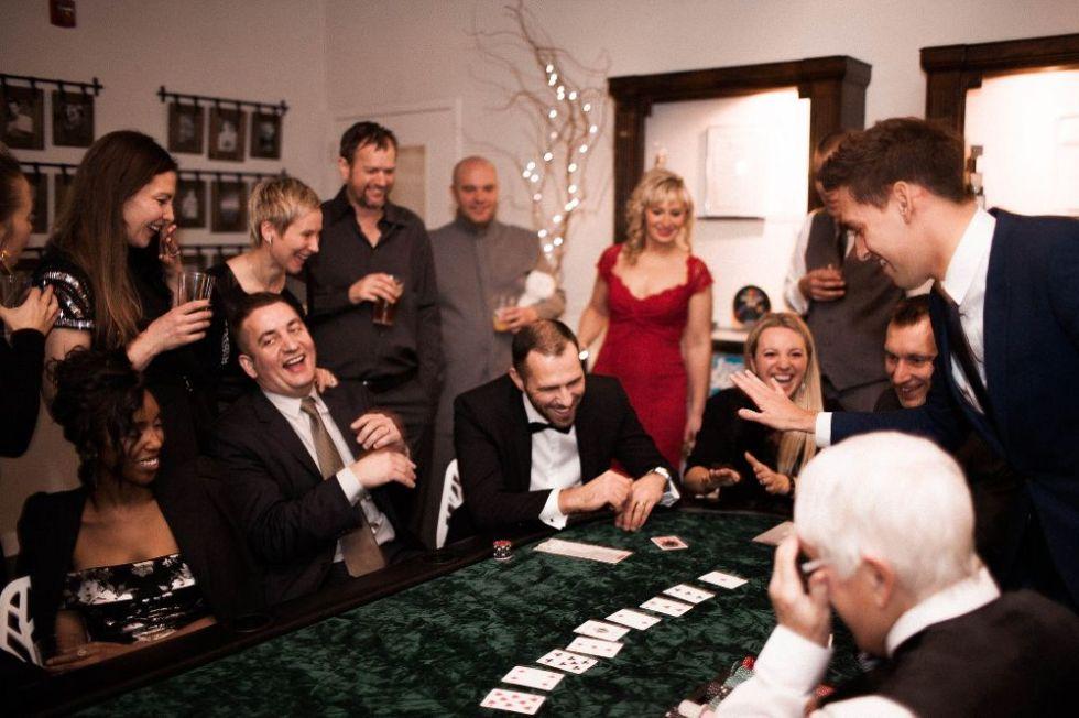 гости на вечеринке