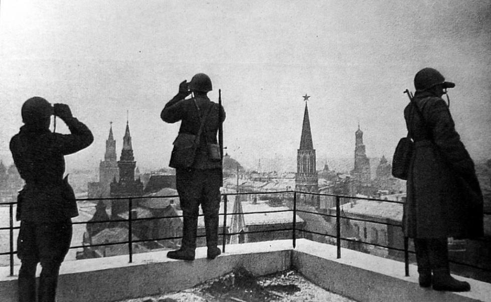 Дозоры Московского неба в 1942 году