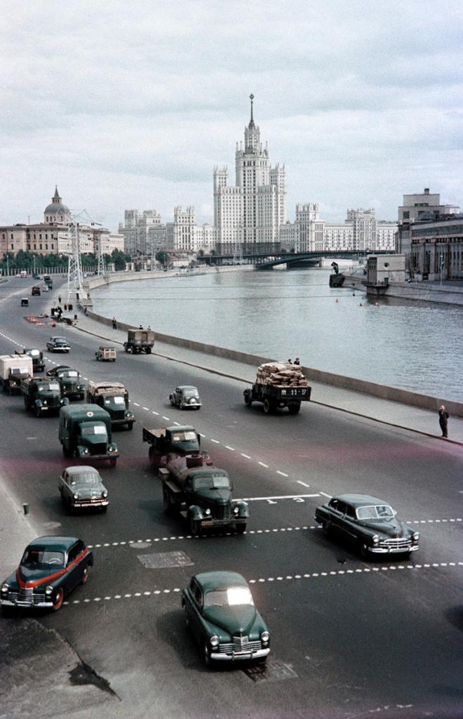 Москва 50-х годов прошлого столетия