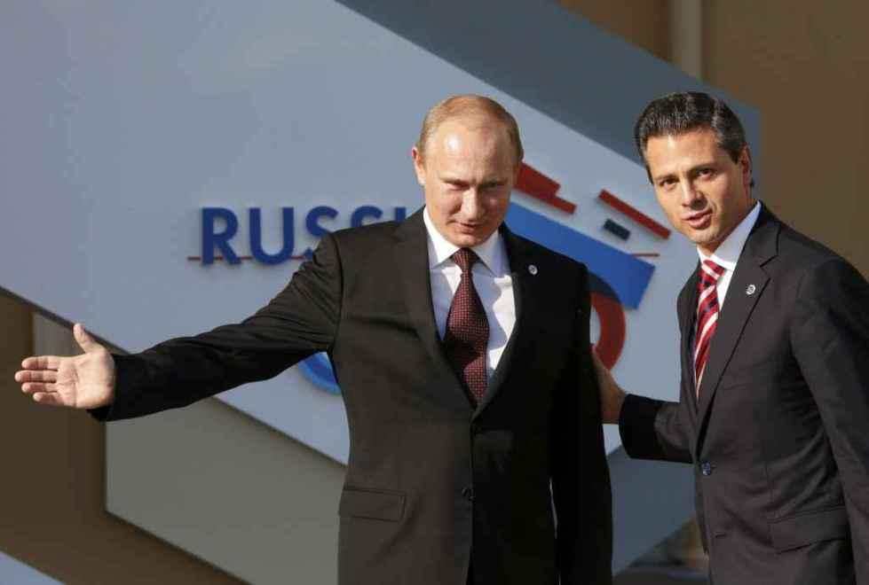 лидеры мексики и россии