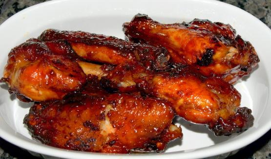 крылышки куриные с соевой заправкой