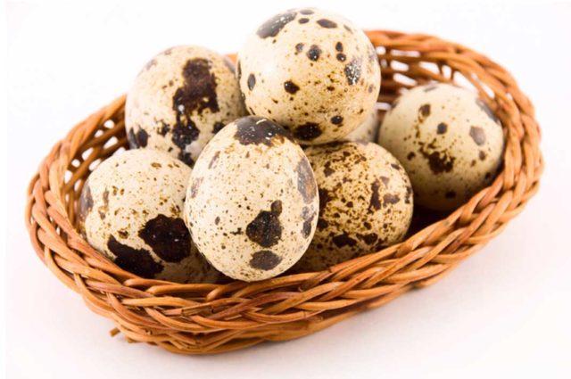 Свойства перепелиных яиц в сыром виде