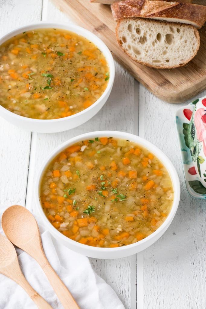 легкий гороховый суп