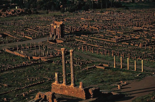 Облик города Тимгад