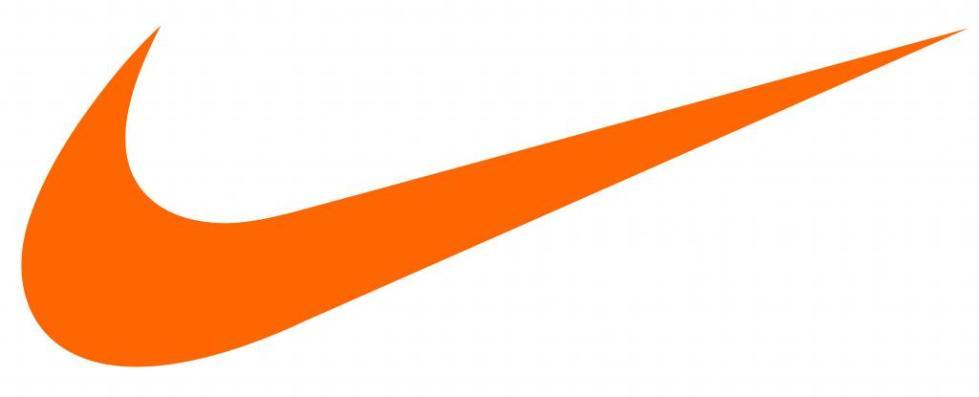 Логотип компании Nike.