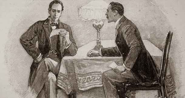 Доктор Ватсон и Шерлок Холмс