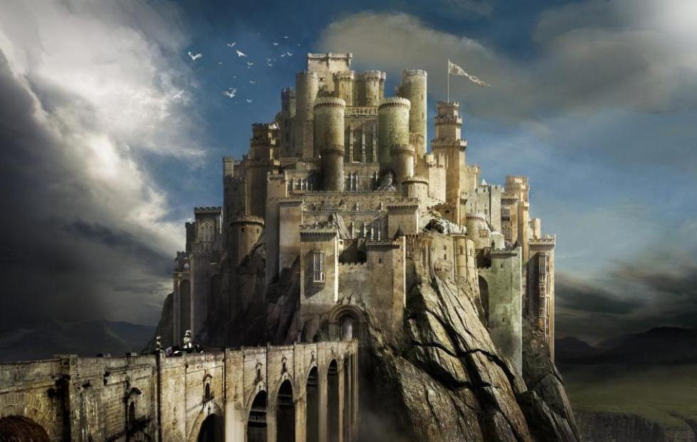 Рисунок замка Камелот