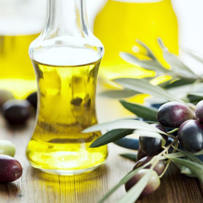 Лимон, масло, специи