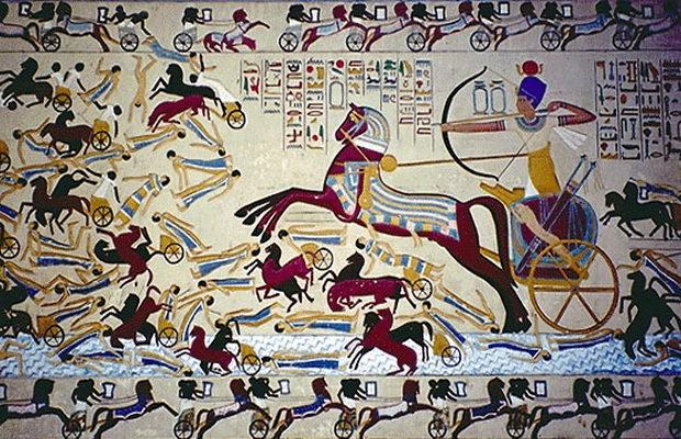 армия фараона древнего египта