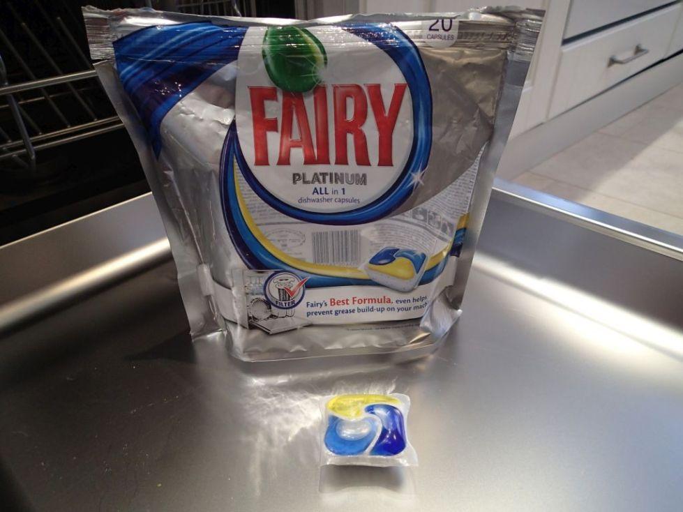 таблетки для посудомоечной машины фейри платинум отзывы