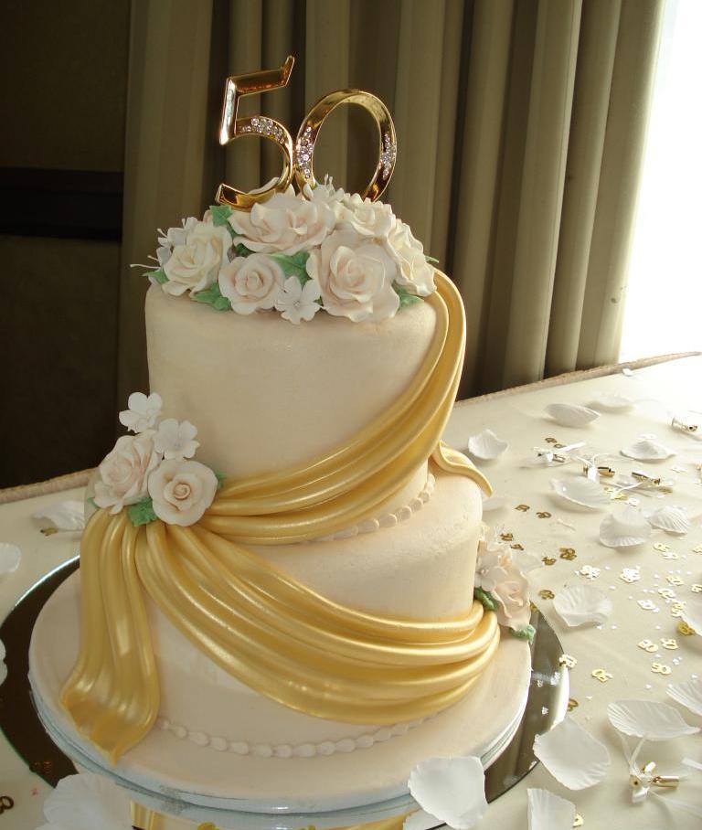 Торт на 50-летний юбилей