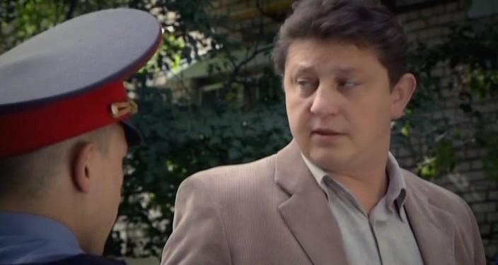 кадр из фильма с актером колешней сергеем