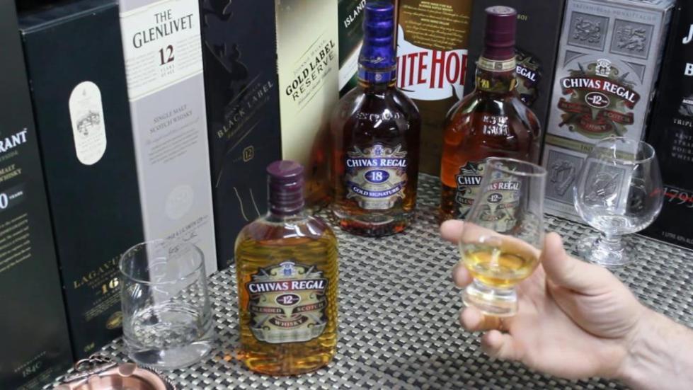 виски шотландский чивас ригал 12 лет