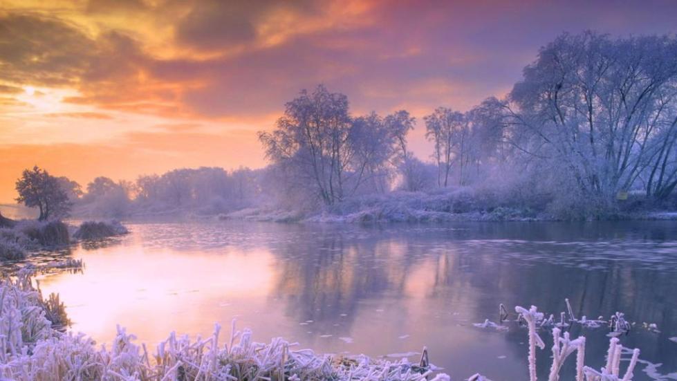 Восхитительная зимняя природа