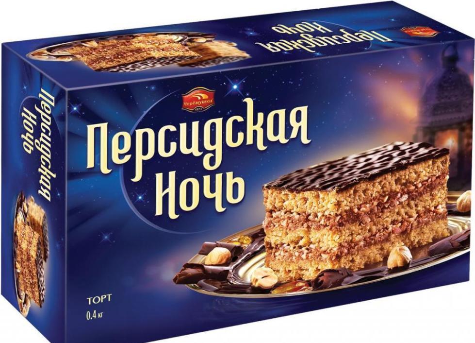 Торт Персидская ночь