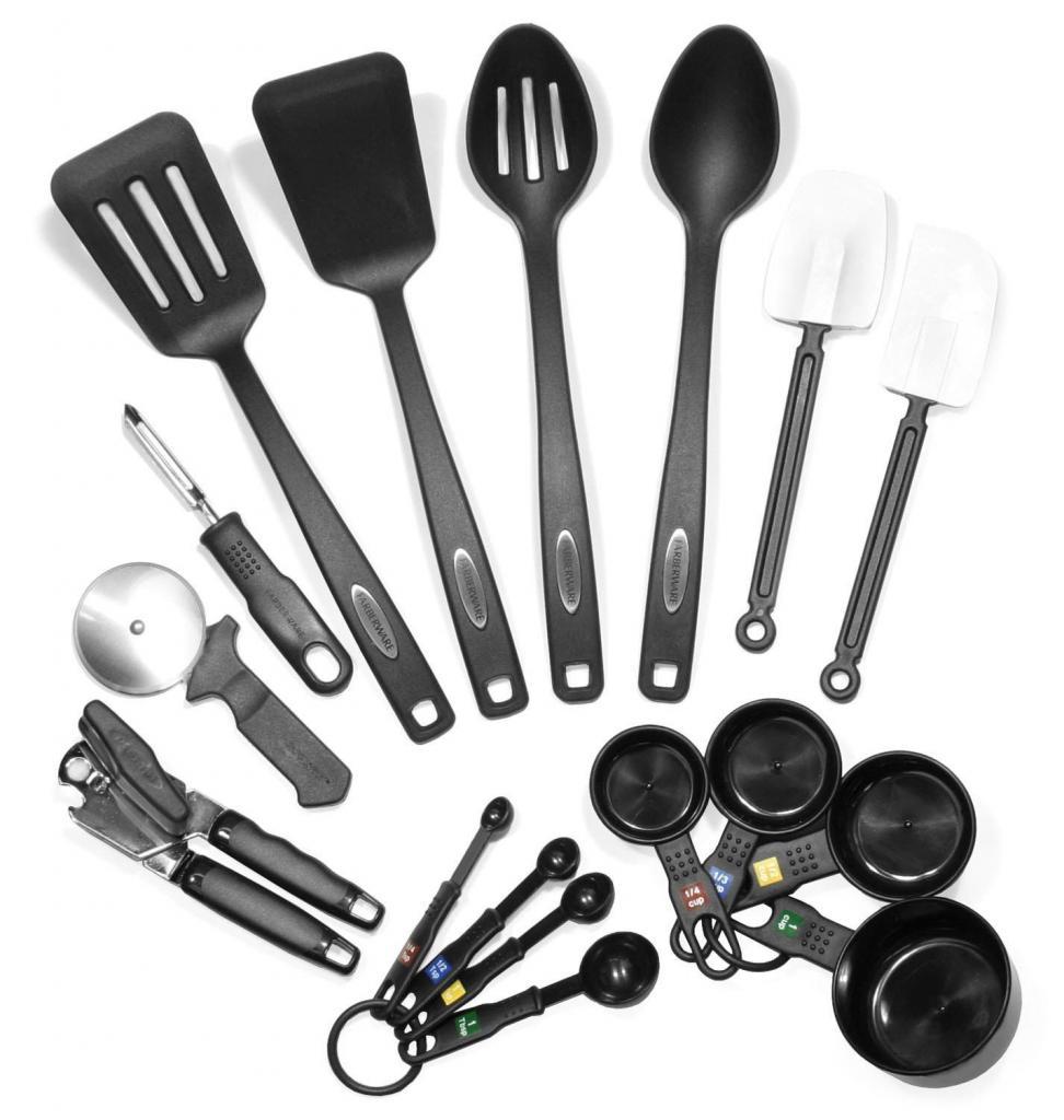 набор предметов кухни