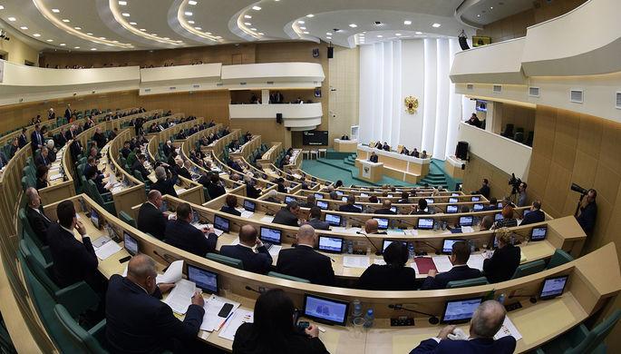 Кожин в Совете Федерации