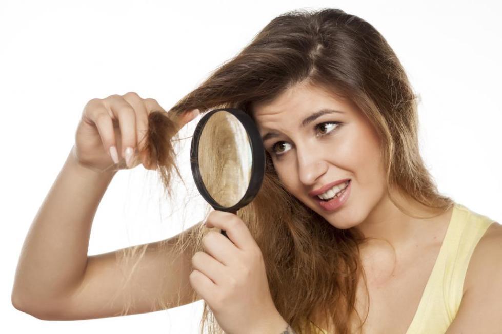 уход за сухими поврежденными волосами