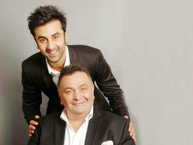 актер с сыном
