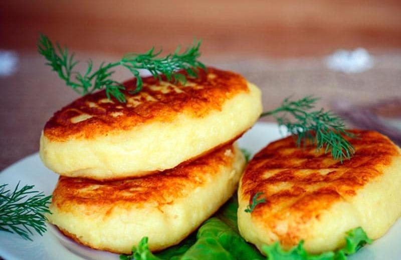 зразы с сыром и грибами в духовке