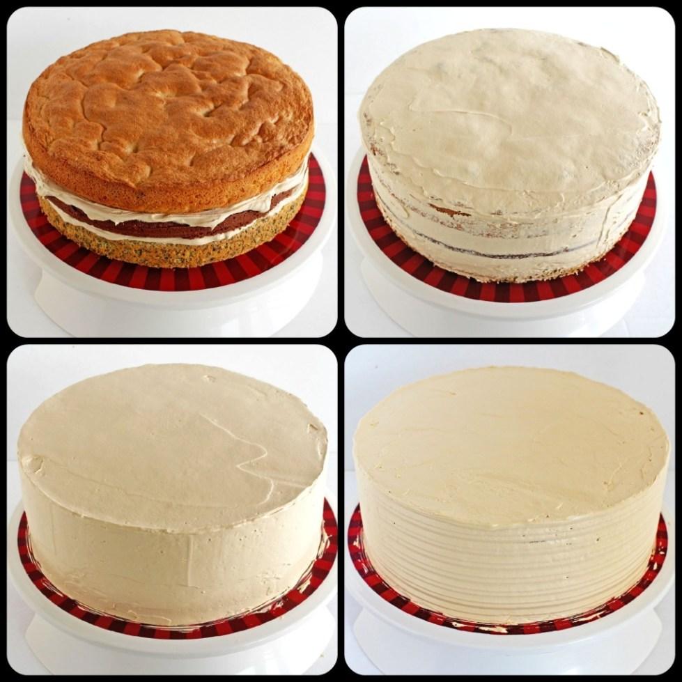 торт с маком и орехами рецепт