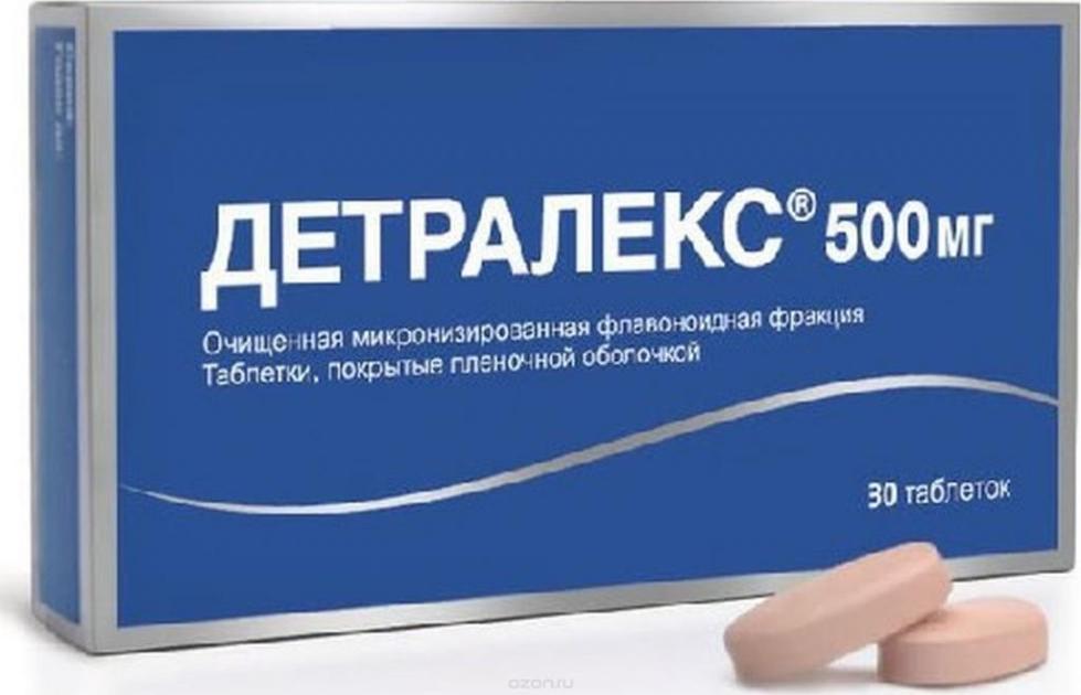 детралекс при шейном остеохондрозе