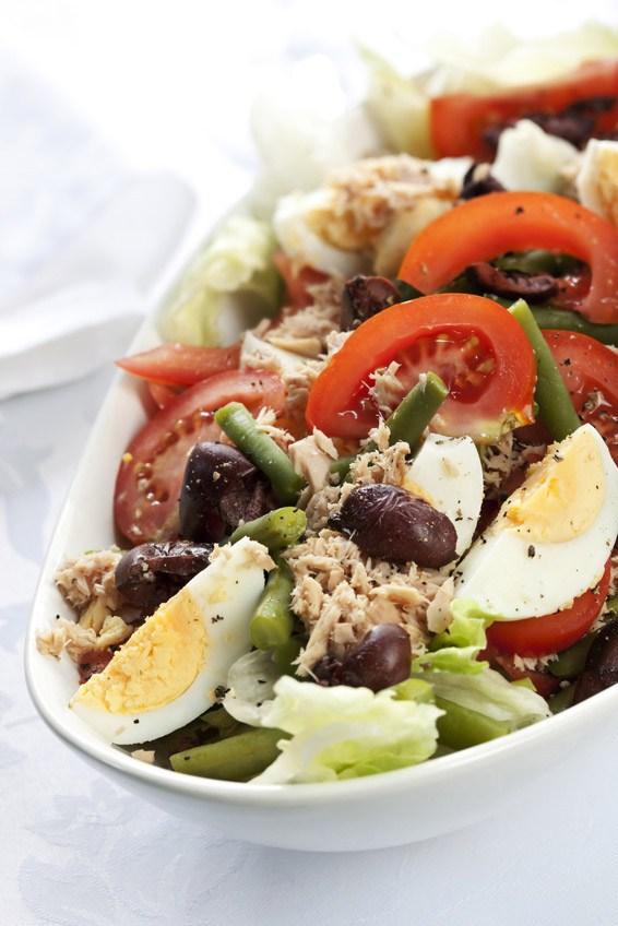 вкусный и простой салат к мясу