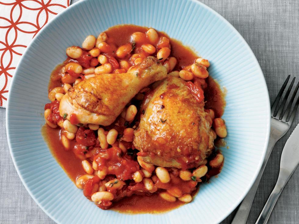 Курица с томатной пастой