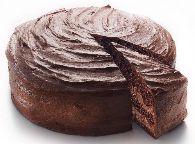 """""""Пражский"""" торт."""