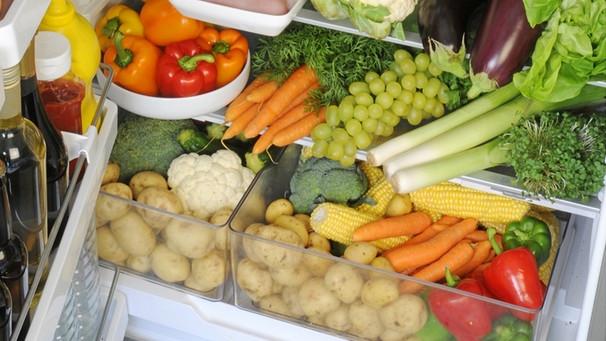 Хранение сырых овощей