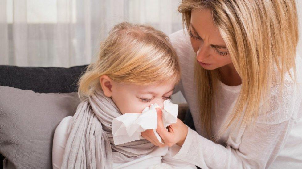 Виды и стадии ринита у детей
