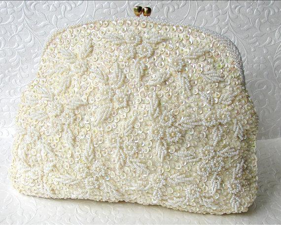Свадебная сумочка с фермуаром