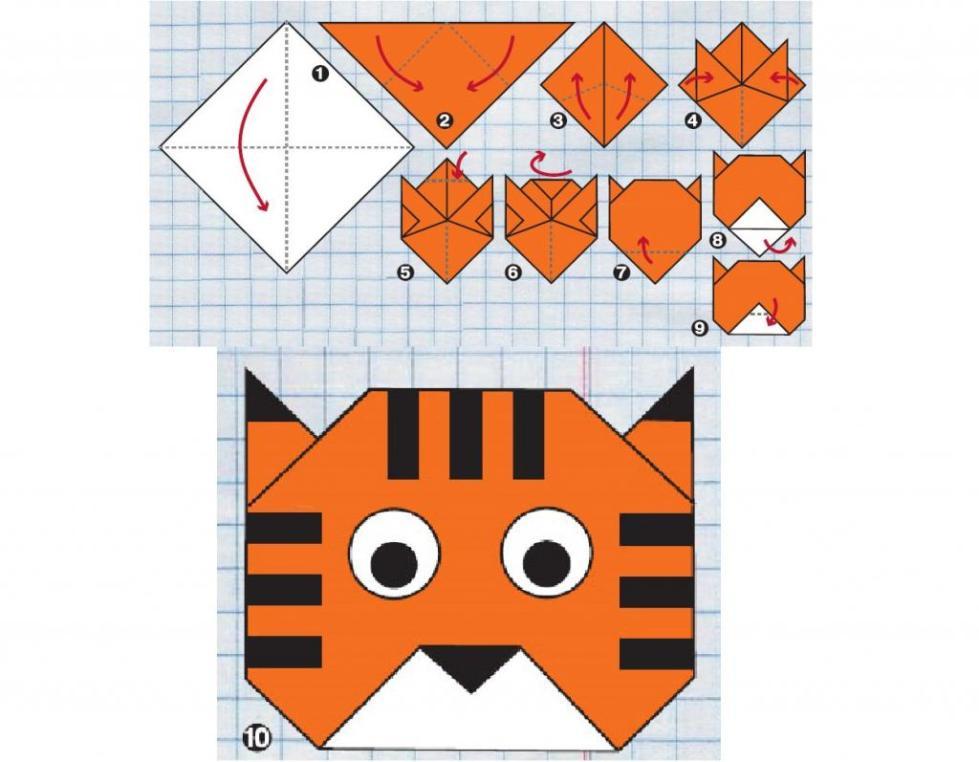 поделки из бумаги оригами