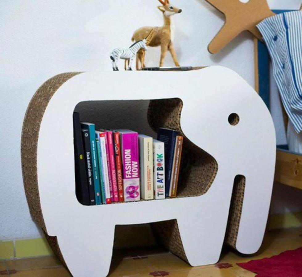 полка в форме слона