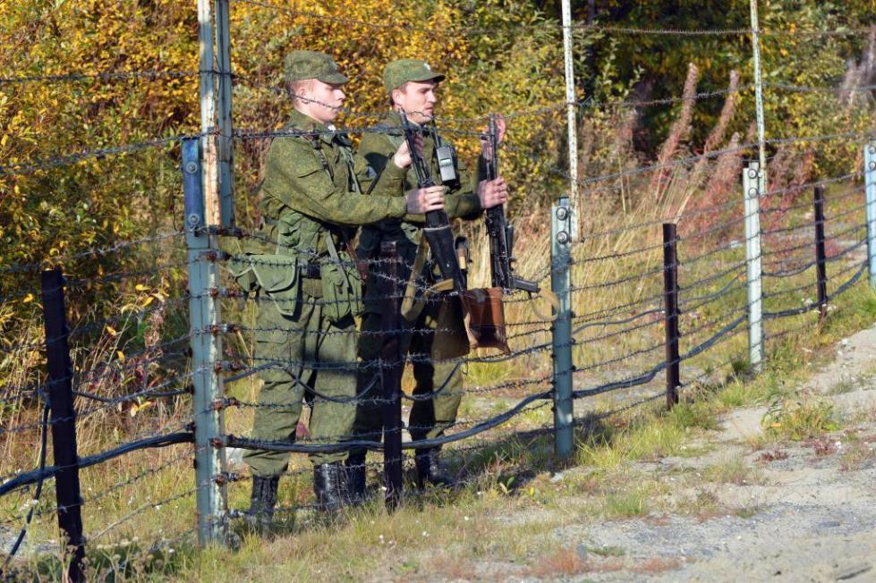 Защита пограничного района