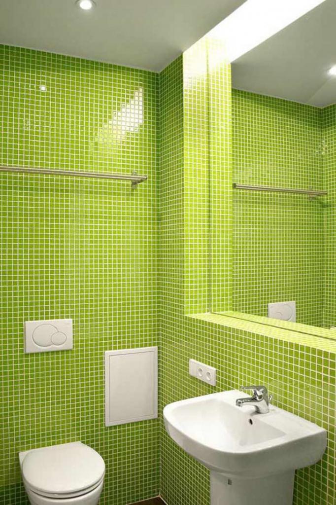 Зеленый туалет