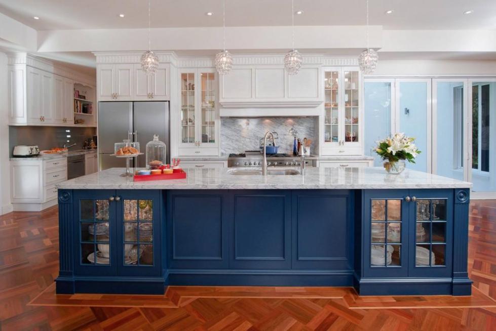 кухня гостиная во французском стиле