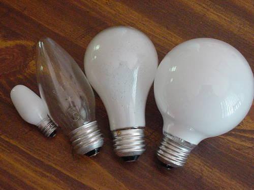 как выбрать мощность лампочки