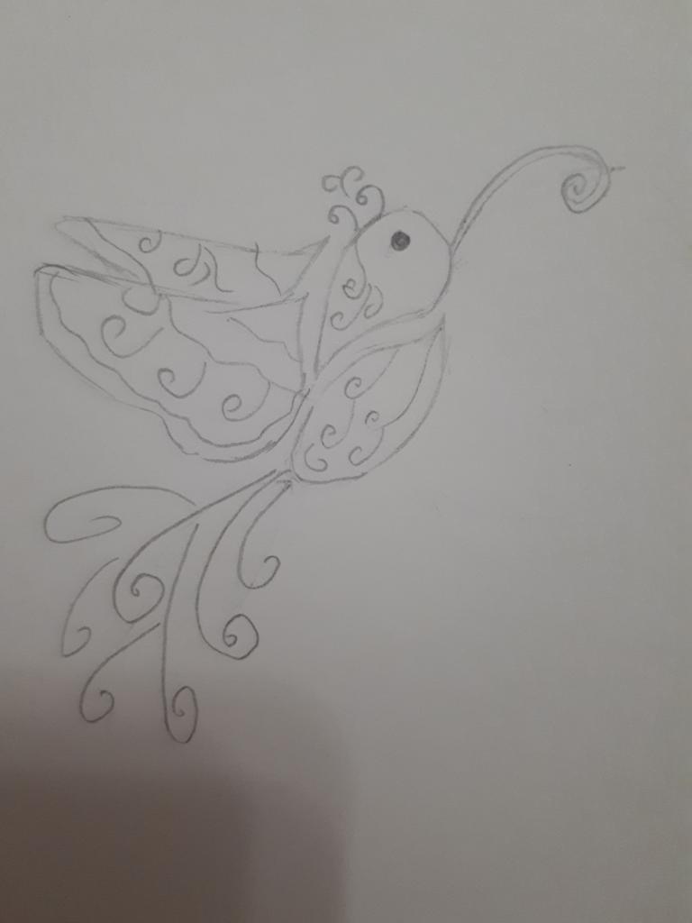 Колибри стилизованный