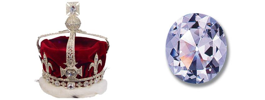 Корона Британии, алмаз Кохинур