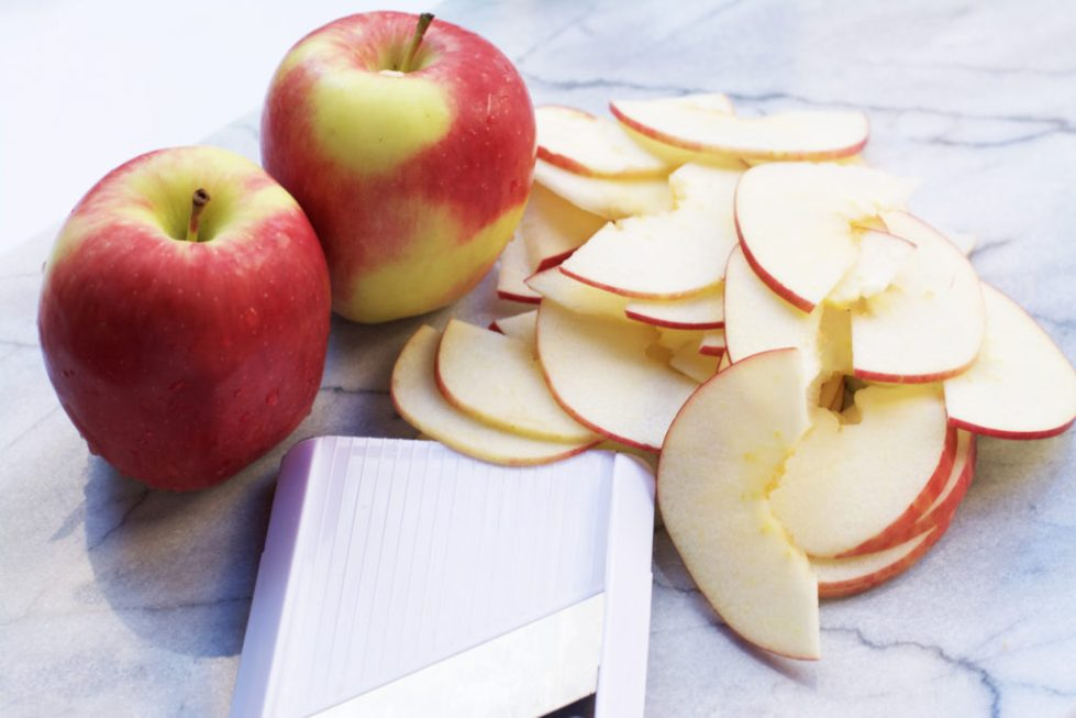 Яблочные слайсы