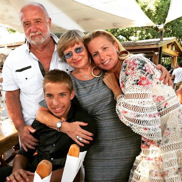 Светлана с родителями и сыном