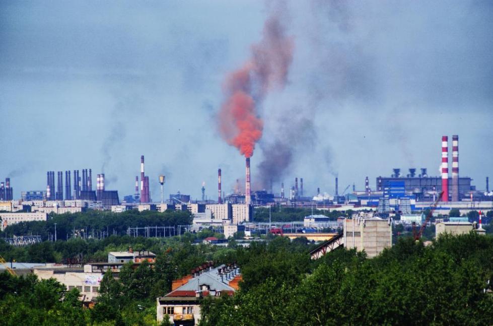 экология череповца основные загрязнения
