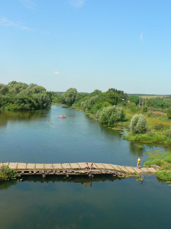 река Пьяна Мордовия