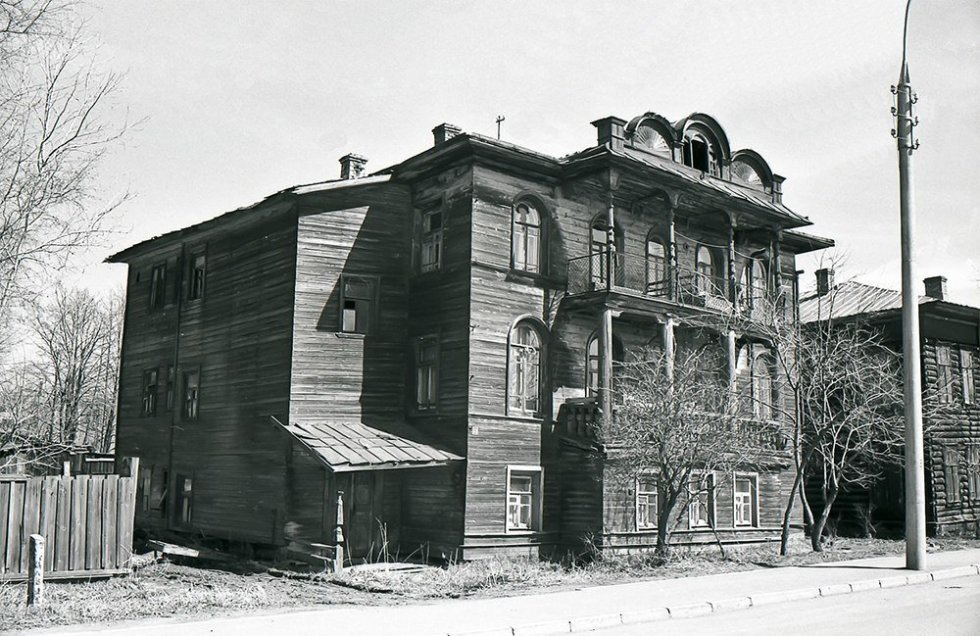 Дом Бердяева в ссылке