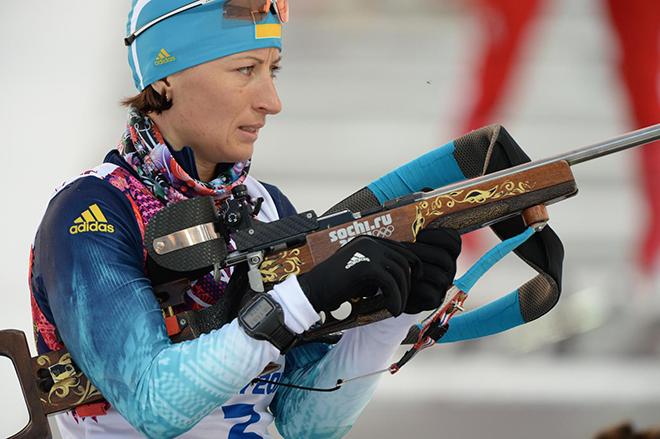 Вита Семеренко - биатлонистка